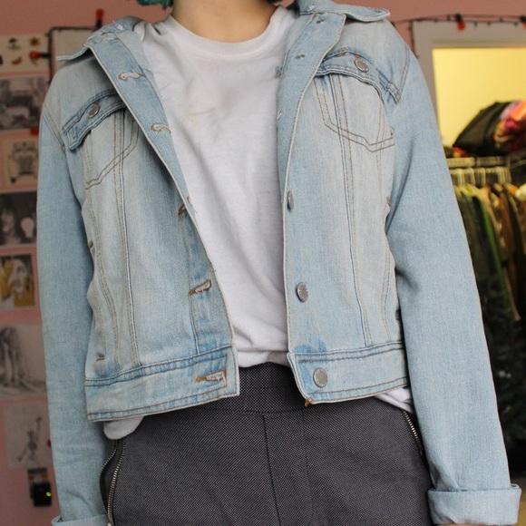 Ci Sono Jackets & Blazers - 🐬Light blue Ci Sono Jean jacket